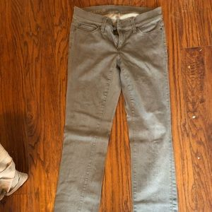 Grey Ann Taylor Denim
